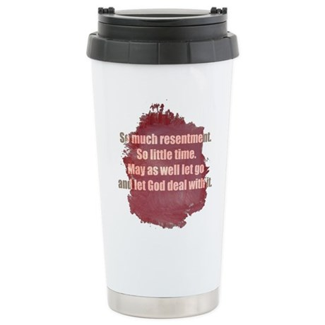 RECOVERY Stainless Steel Travel Mug
