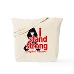 I Stand Strong Melanoma Tote Bag