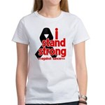 I Stand Strong Melanoma Women's T-Shirt