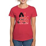 I Stand Strong Melanoma Women's Dark T-Shirt