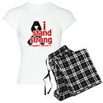 I Stand Strong Melanoma Women's Light Pajamas