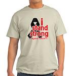 I Stand Strong Melanoma Light T-Shirt