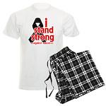 I Stand Strong Melanoma Men's Light Pajamas