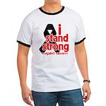 I Stand Strong Melanoma Ringer T