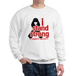 I Stand Strong Melanoma Sweatshirt