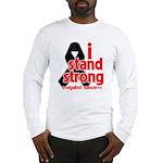 I Stand Strong Melanoma Long Sleeve T-Shirt