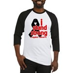I Stand Strong Melanoma Baseball Jersey