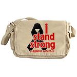 I Stand Strong Melanoma Messenger Bag