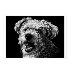 Dramatic Terrier Postcards (Package of 8)