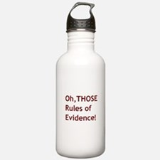 Rules of Evidence 2 Water Bottle
