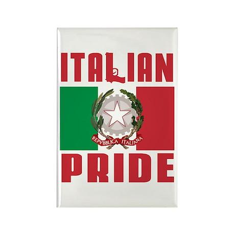Italian Pride Rectangle Magnet (10 pack)