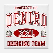 Deniro Italian Drinking Team Tile Coaster