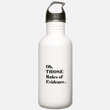 Rules of Evidence Water Bottle
