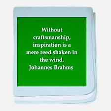 brahms quotes baby blanket