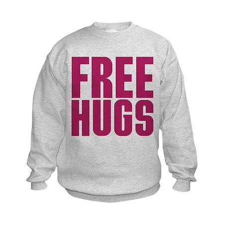 Free Hugs Kids Sweatshirt