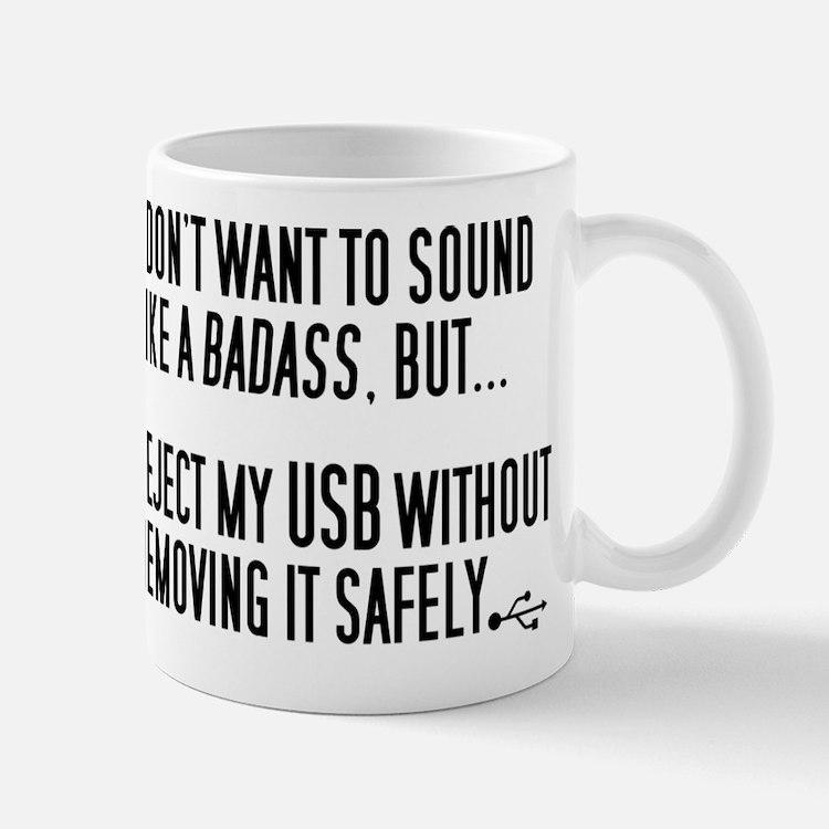 Badass USB Eject Mug