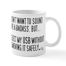 Badass USB Eject Small Mugs