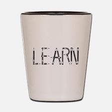 Learn / Self-Education Shot Glass
