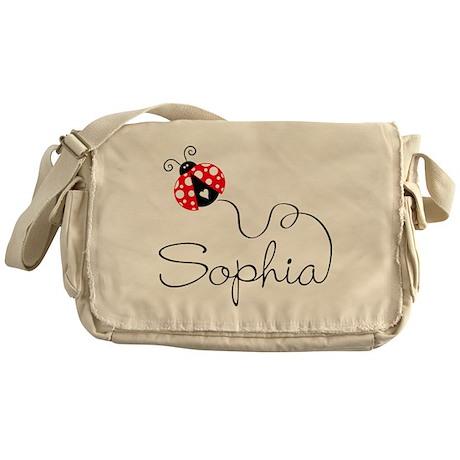 Ladybug Sophia Messenger Bag