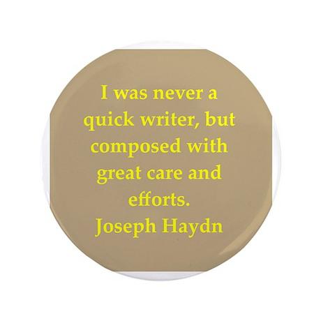 """Haydn 3.5"""" Button"""