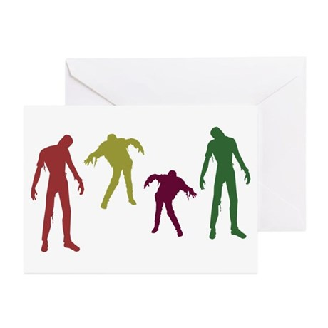 Zombies Attack! Greeting Cards (Pk of 20)