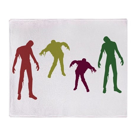 Zombies Attack! Throw Blanket