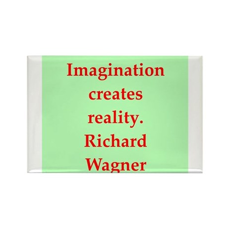 Richard wagner quotes Rectangle Magnet (10 pack)