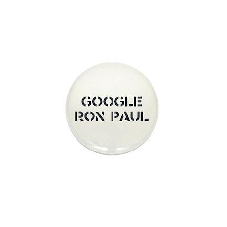 Google Ron Paul Mini Button (100 pack)