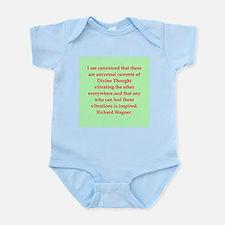 Richard wagner quotes Infant Bodysuit