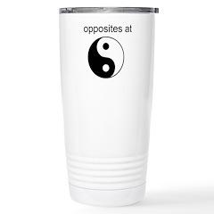 Opposites attract Travel Mug