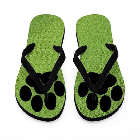 Friendly Paw Flip Flops