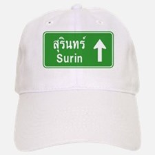 Surin Highway Sign Baseball Baseball Cap