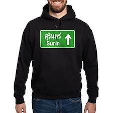 Surin Highway Sign Hoodie