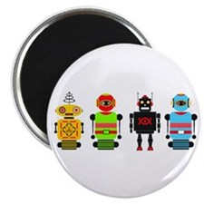 Cute Robots Magnet
