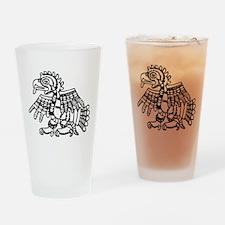 Maya Harpy Eagle Drinking Glass