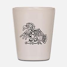 Maya Harpy Eagle Shot Glass