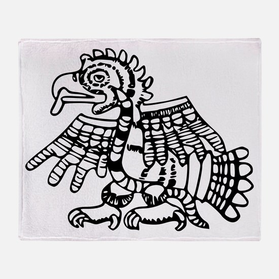 Maya Harpy Eagle Throw Blanket