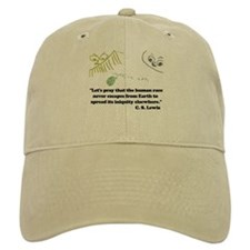CS Lewis quote cap
