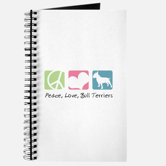 Peace, Love, Bull Terriers Journal