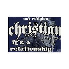 Christian/Relationship Rectangle Magnet