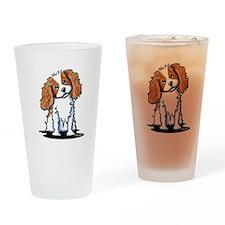 KiniArt CKC Spaniel Drinking Glass
