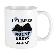 I Climbed Mount Bross Mug
