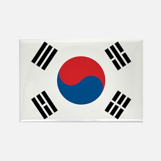 South Korean Flag Rectangle Magnet