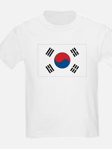 South Korean Flag Kids T-Shirt