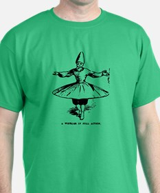 "Whirling Sufi Dervish ""In Ful T-Shirt"