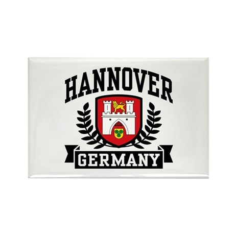 Hannover Germany Rectangle Magnet
