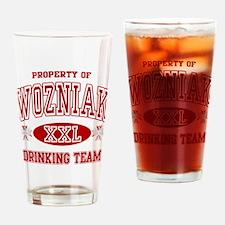 Wozniak Polish Drinking Team Drinking Glass