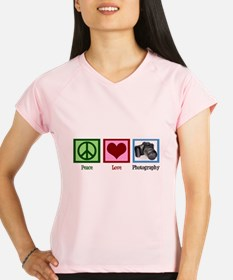 Peace Love Photography Performance Dry T-Shirt