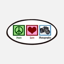 Peace Love Photography Patches