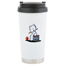 Back To School Westie Travel Coffee Mug